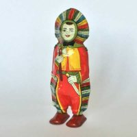 image of Chein indian windup tin toy