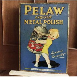 image of tin sign