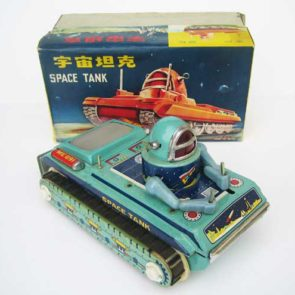 Chinese image of ME 091 space tank with box