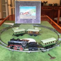 image of Karl Bub clockwork train set